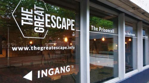 belettering voor the great escape zwolle 2