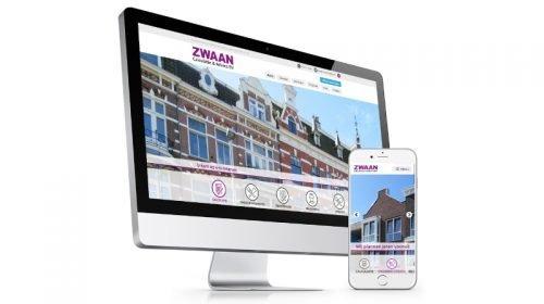 Website ZWAAN De Diesignloods